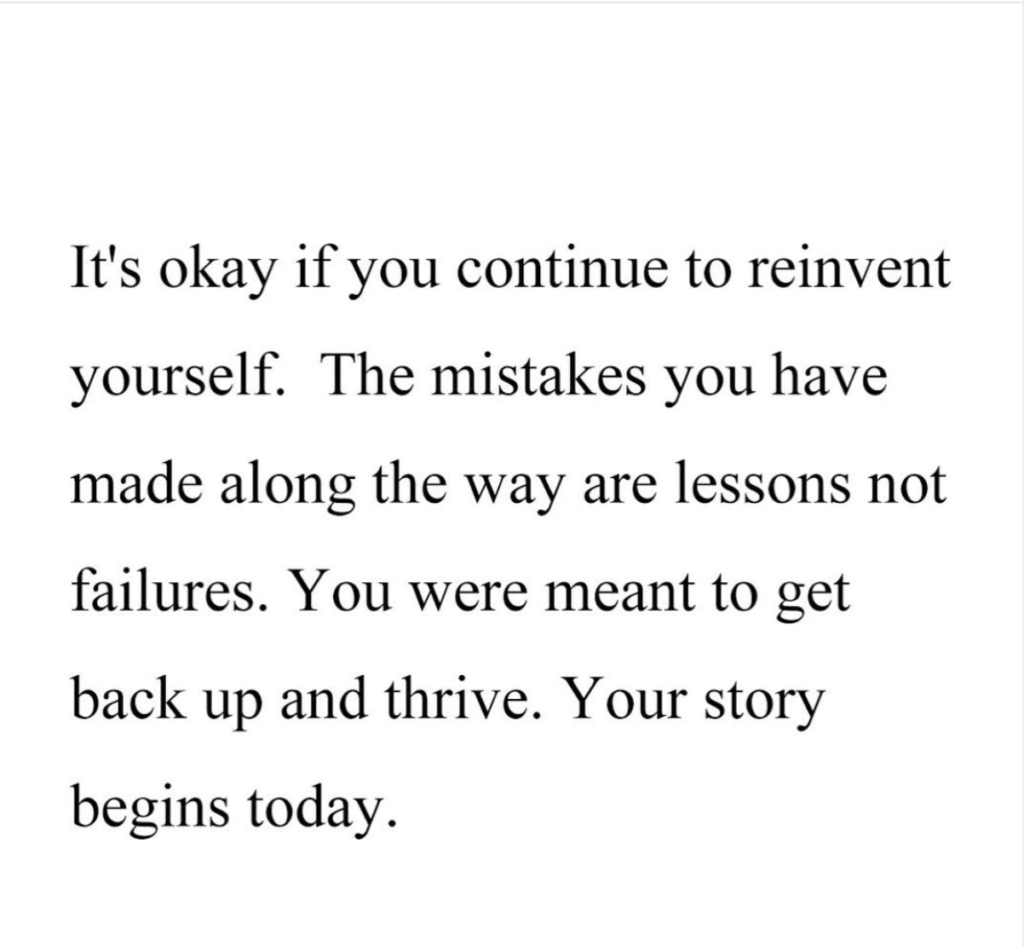 reinvent yourself quote