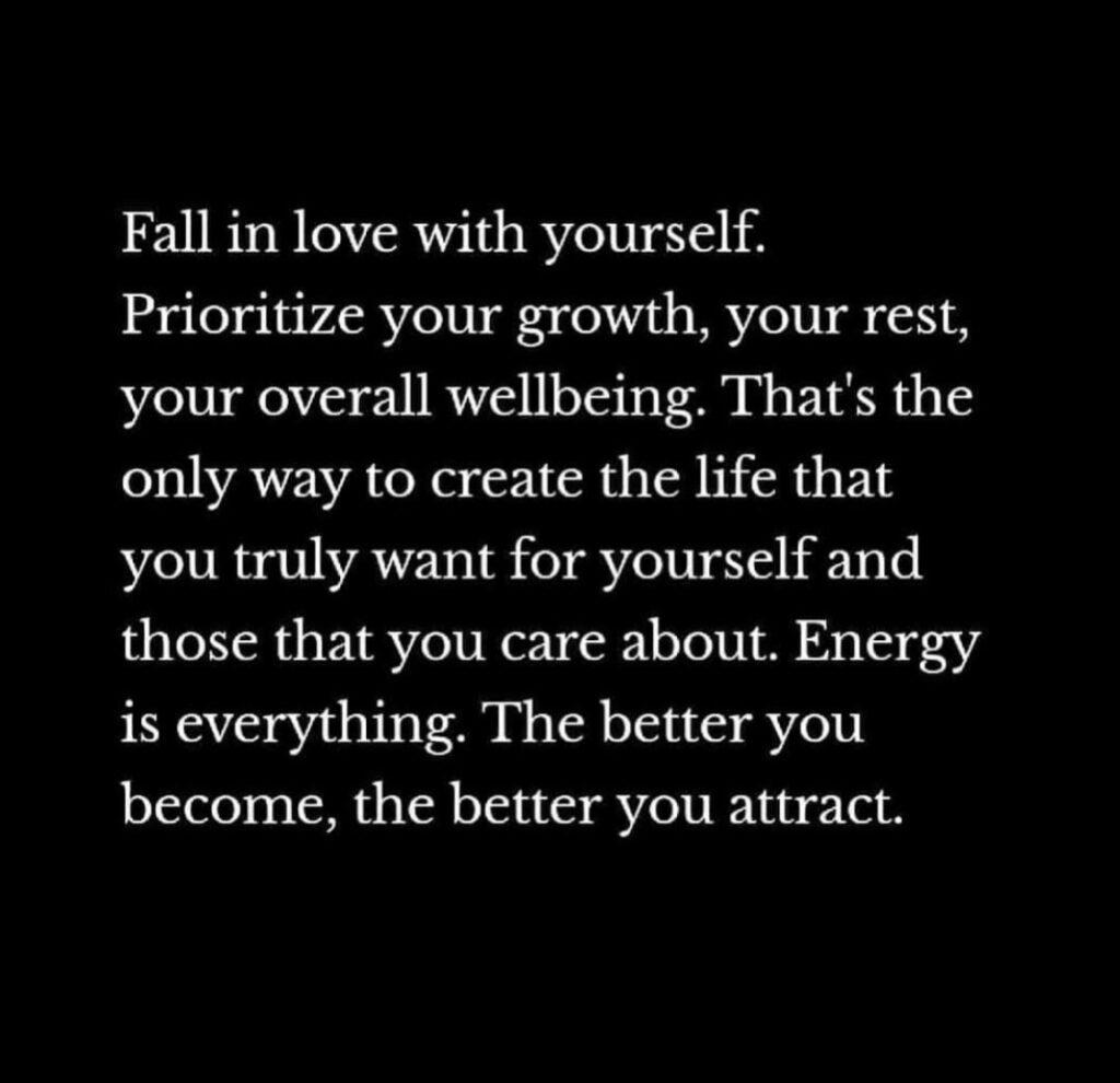 prioritize yourself quote