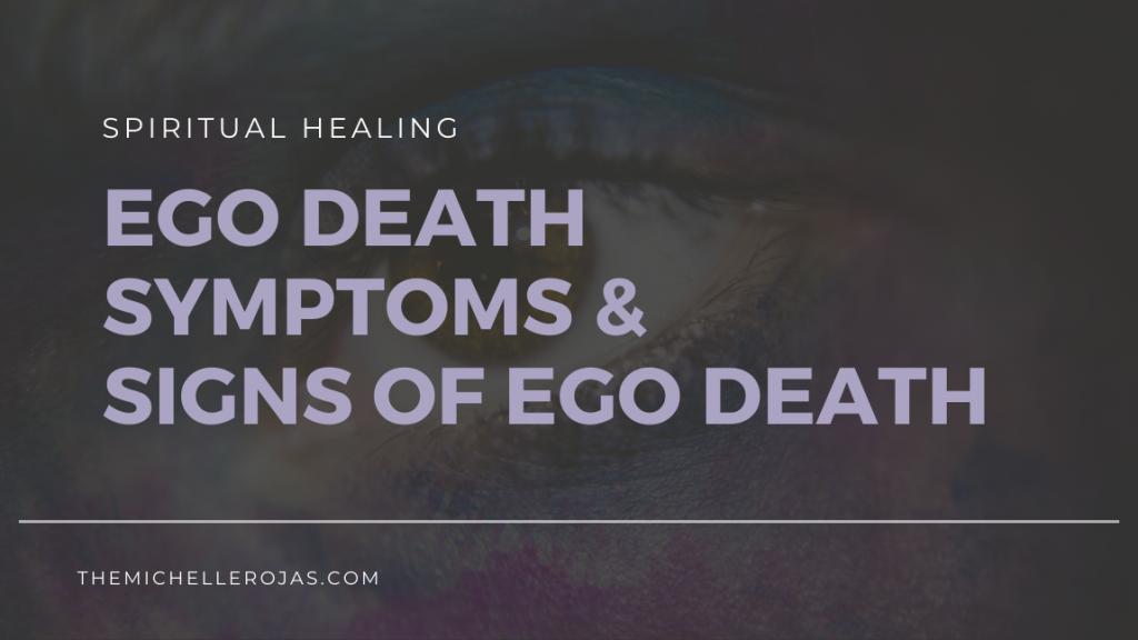 ego death symptoms