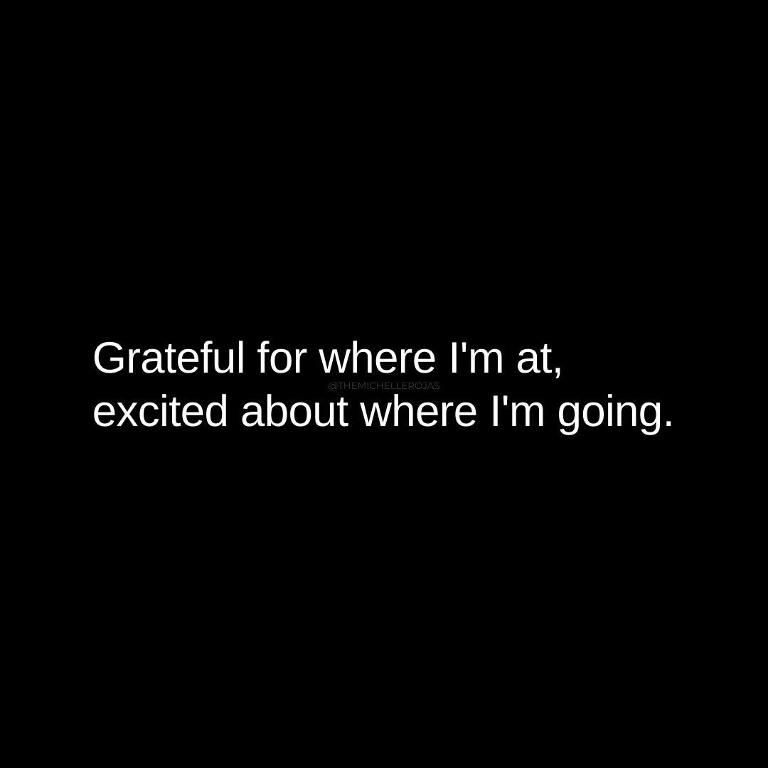 grateful for where i'm at quote